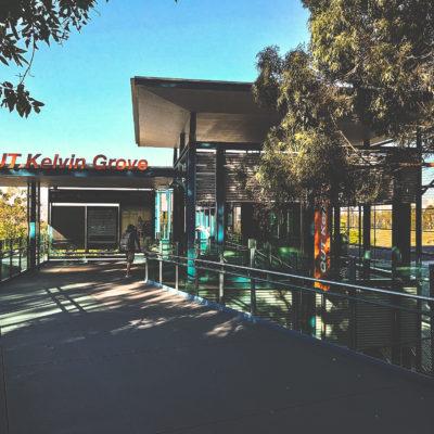 QUT Kelvin Grove Station