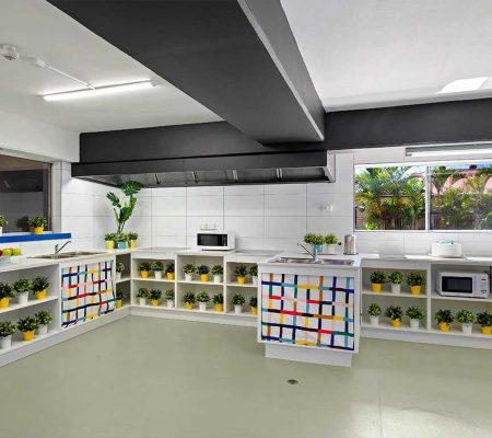 Kelvin_Grove_Student_Accommodation_communal_kitchen